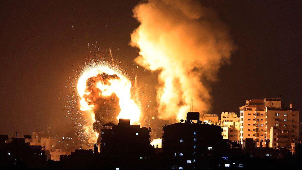 γαζα_βομβαρδισμός